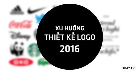 8 xu hướng thiết kế logo của 2016