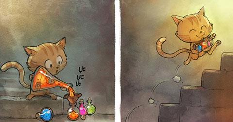 Truyện tranh ngắn : Hạt Tiêu và Cà Rốt (Phần 1 + 2)