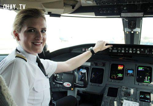 ảnh phi công,ngành hàng không,đi máy bay,có thể bạn chưa biết