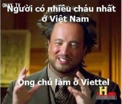 Ông chú làm ở Viettel