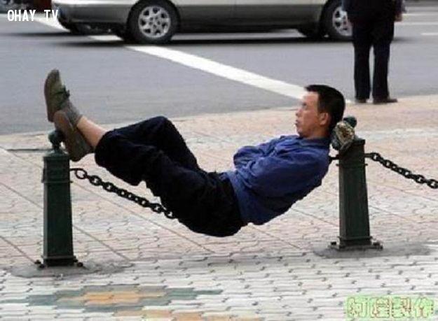 Nghỉ trưa ở Trung Quốc