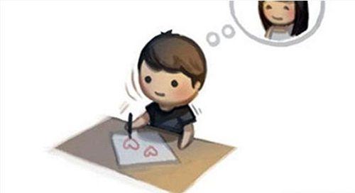 ảnh bức thư tình,thư tỏ tình,tỏ tình hài hước