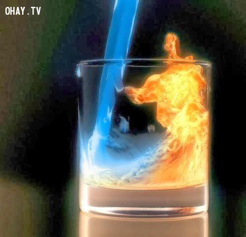 Công nghệ mới có thể dùng nước tạo ra lửa