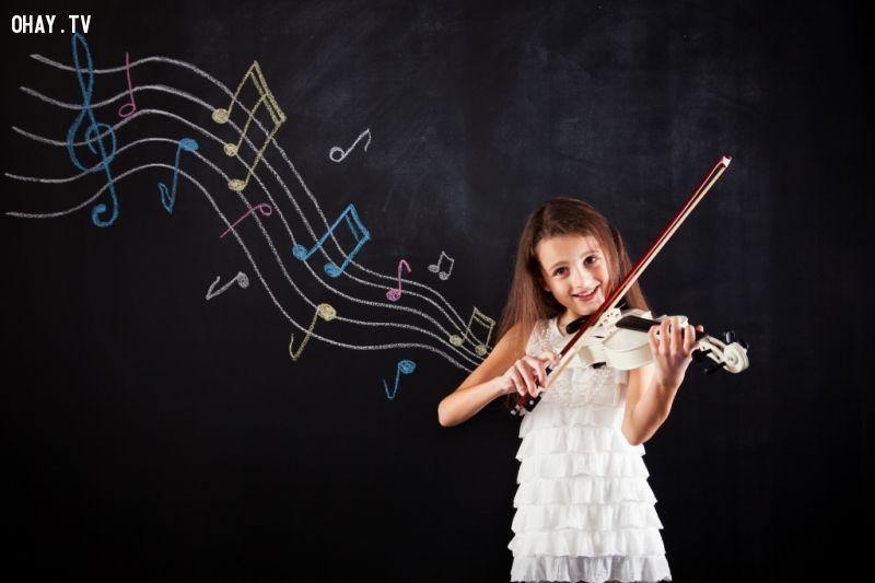 Chơi nhạc cụ giúp thông minh hơn