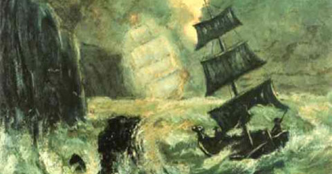 Top 10 con tàu ma và những câu chuyện đã đi vào huyền thoại - P1