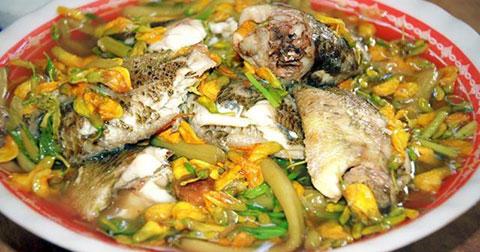 Những món ăn ngon vào mùa lũ ở Miền Tây.