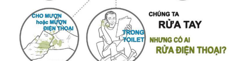 ảnh khám phá, điện thoại, điện thoại bẩn, toilet