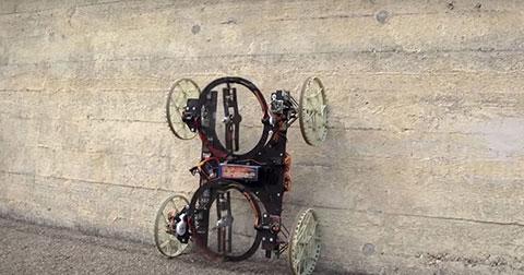 VertiGo - Robot có thể đi trên tường điêu luyện không cần chân dính
