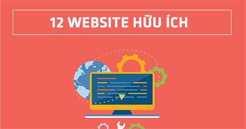 12 Website hữu ích có thể bạn chưa biết