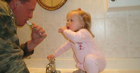 Chùm ảnh đáng yêu của bố và con gái