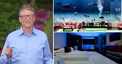Nhà của Bill Gates có gì?
