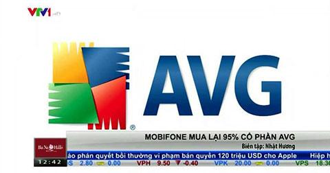 VTV lại nhầm logo trong vụ Mobifone mua 95% cổ phần AVG