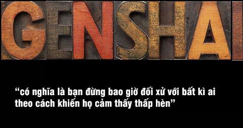 Genshai - Sự tôn trọng