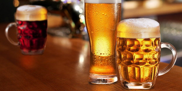 Uống bia