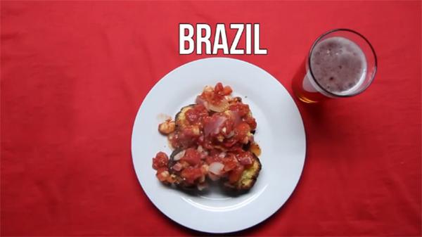 Mồi nhậu bia của người brazil