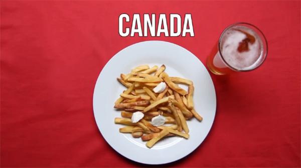 Mồi nhậu bia của người canada