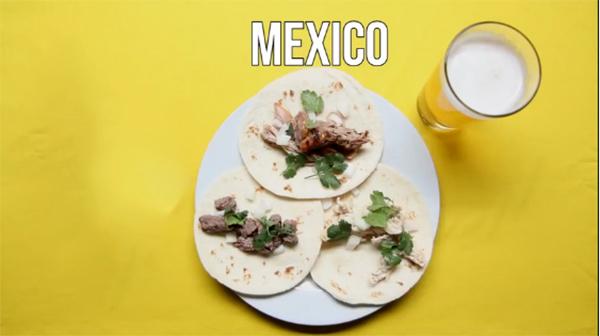 Mồi nhậu bia của người mexico