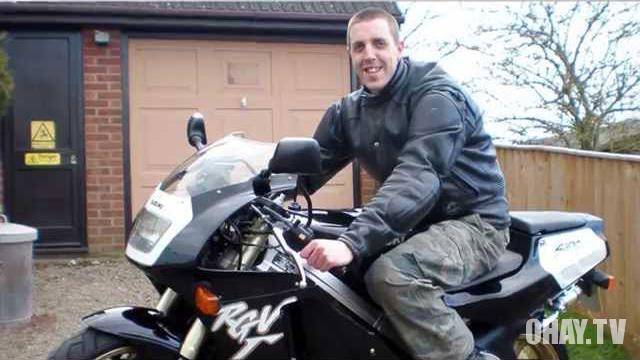 David's story - Câu chuyện buồn của một biker