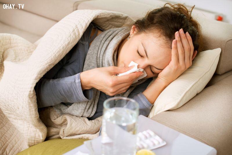 ảnh cảm cúm,phòng bệnh