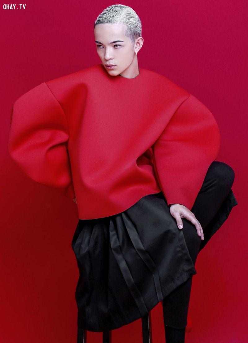 ảnh Kelbin Lei,người mẫu lưỡng tính,stylist,thời trang