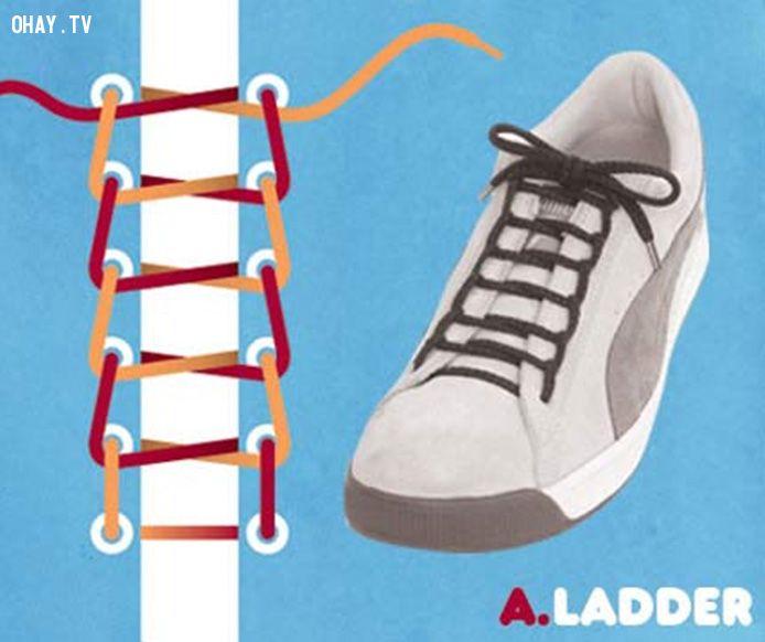 ảnh buộc dây giày,mẹo vặt cuộc sống