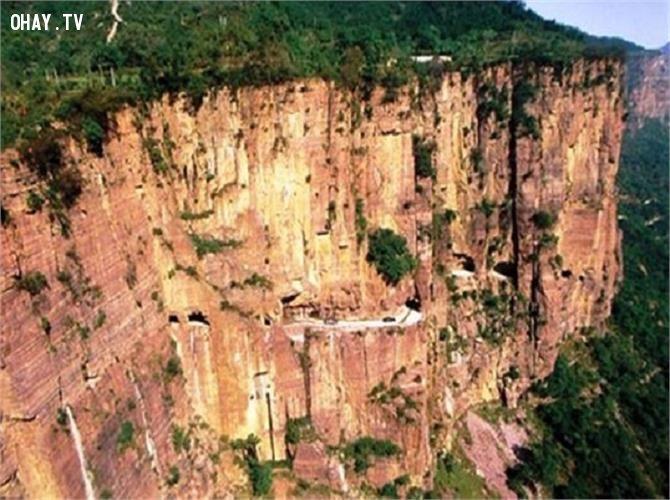 Đường hầm Guoliang , Trung Quốc
