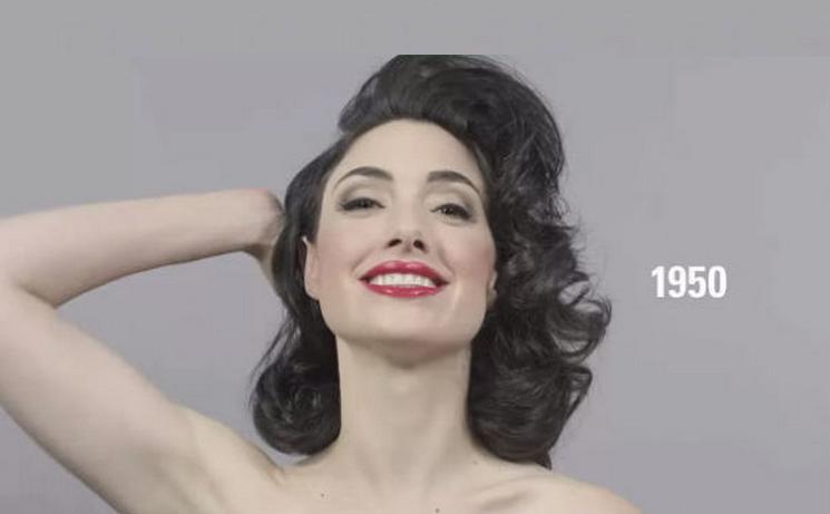Nét đẹp của phụ nữ đã thay đổi như thế nào trong hơn 1 thế kỷ qua?
