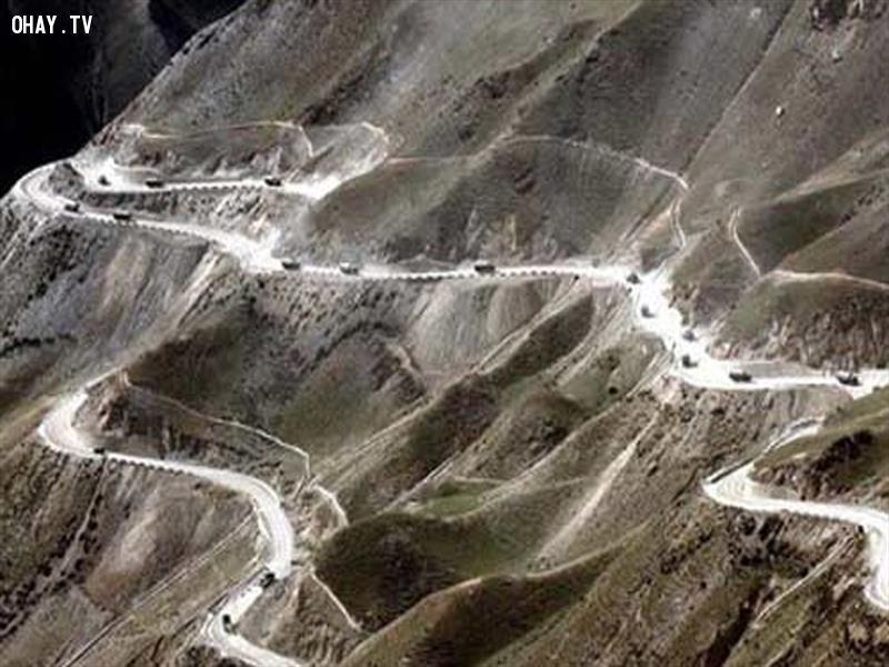 Cao tốc Tứ Xuyên - Tây Tạng , Trung Quốc