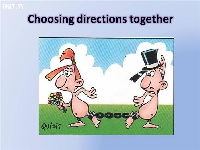 Bộ ảnh hài hước về ý nghĩa của kết hôn
