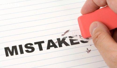 Đừng quá khắt khe với chính mình. Thậm chí những sai lầm cũng có nghĩa là bạn đang cố gắng!