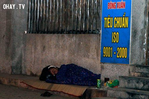 ảnh người nghèo,vô gia cư,người sài gòn