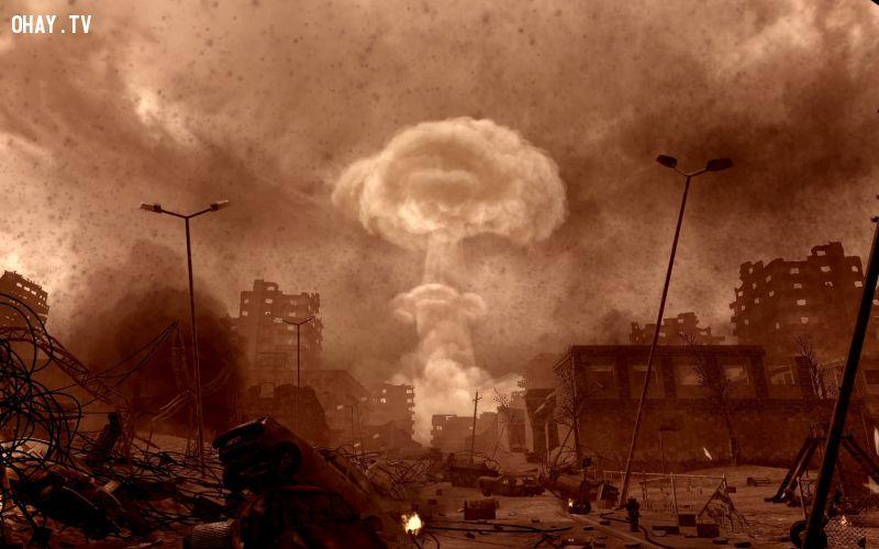 ảnh chiến tranh hạt nhân,cách mạng xanh,Thành Cát Tư Hãn,vó ngựa Mông Cổ,lịch sử nhân loại,bước ngoặt lịch sử