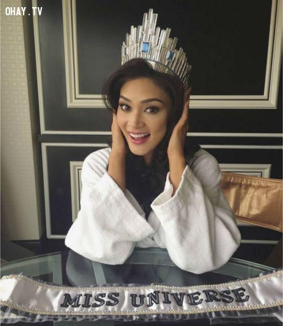 ảnh vương miện,hoa hậu hoàn vũ 2015