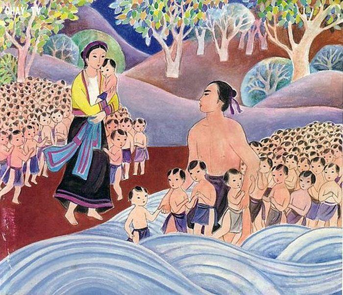 ảnh truyện cổ tích,truyền thuyết,sơn tinh thủy tinh