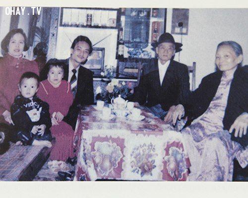 Hương Giang là con trai duy nhất trong gia đình