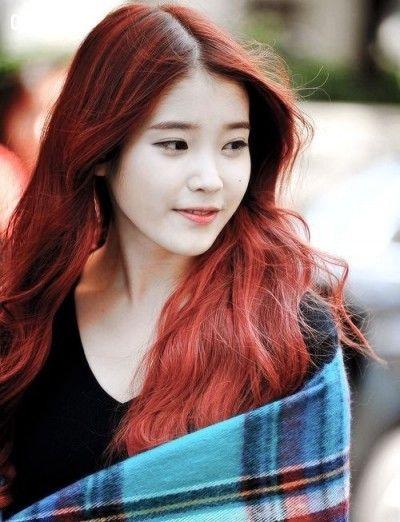 Tóc đỏ cá tính, quyến rũ