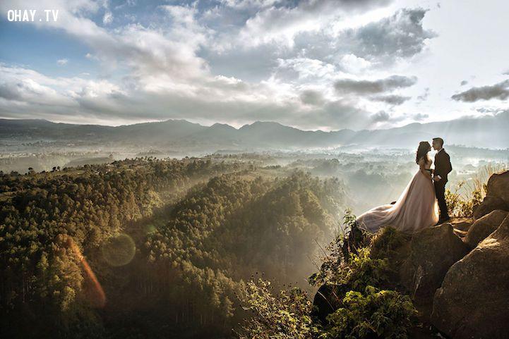 Bức ảnh cưới giữa thiên nhiên thơ mộng