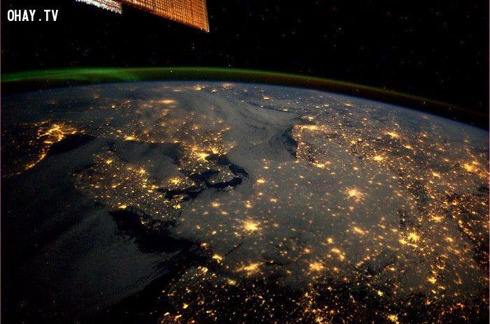 ảnh người ngoài hành tinh,trái đất từ trên không,trái đất