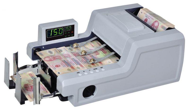 Một chiếc máy đếm tiền tự động