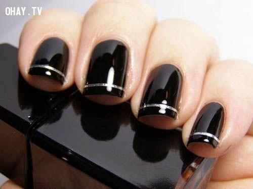 ảnh nails,sơn móng tay,tính cách,đoán tính cách qua móng tay,trắc nghiệm tính cách