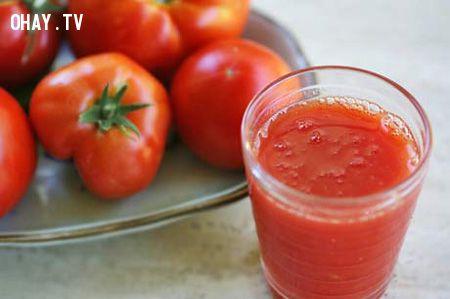 Cà chua là nguyên liệu nhuộm tóc thú vị