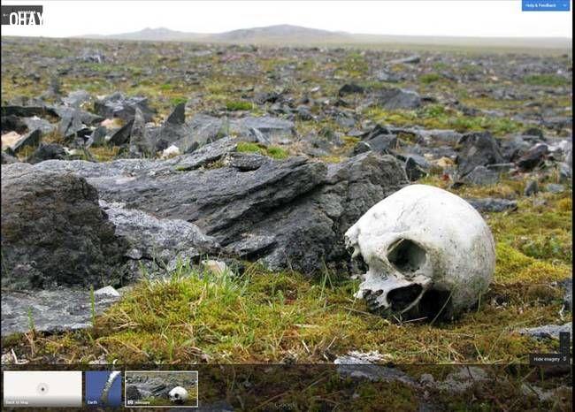 Những hình ảnh đáng sợ được phát hiện trên Google Maps
