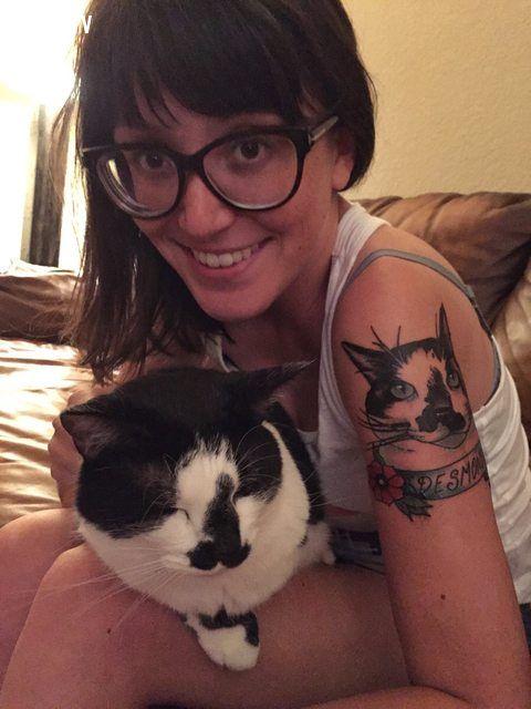 ảnh hình xăm mèo