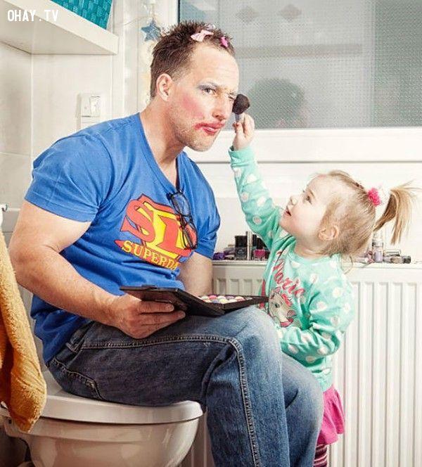 ảnh bố và con gái