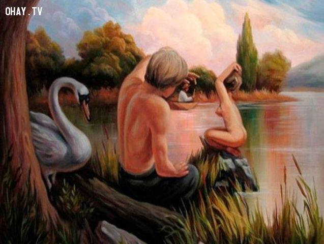 """Ngắm 12 bức tranh biến hóa trừu tượng (metamorphic art) """"hại não"""""""