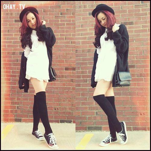 ảnh đen trắng,trang phục,set đồ,thời trang đen trắng,tông màu đen trắng