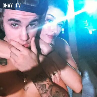 ảnh Justin Bieber,Hailey Baldwin,bạn thân