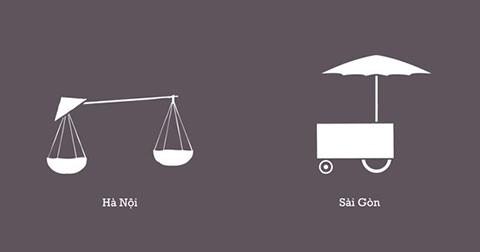 10 điểm khác biệt giữa Hà Nội và Sài Gòn