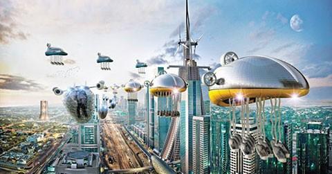 Mãn nhãn với thành phố công nghệ sau 30 năm nữa