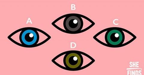 Khám phá tính cách qua màu mắt của bạn.